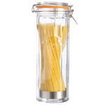 Słoik z klipsem do spaghetti 2,2l KILNER Facetted Clip Top Jar