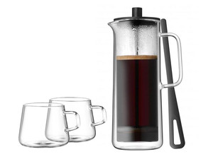 Kawiarka tłokowa french press WMF z 2 filiżankami do kawy