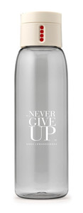Butelka na wodę NEVER GIVE UP Healthy Plan By Ann (Anna Lewandowska) 0,6l